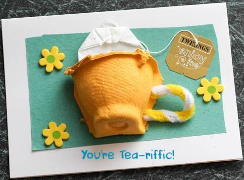 tea riffic card mothers day teabag craft